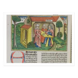 Carte Postale I le 1:8 Elkanah de Samuel soulage Hannah, du 'NU