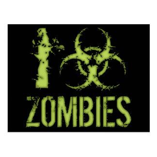 Carte Postale I zombis de Biohazard