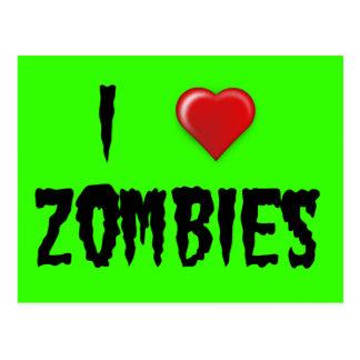 Carte Postale I zombis de coeur