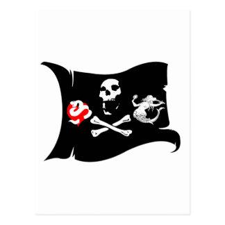 Carte Postale Icône #12 de pirate