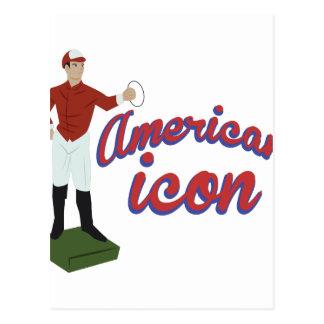 Carte Postale Icône américaine