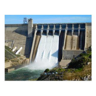 Carte Postale Icône de Folsom : Le barrage de Folsom avec des