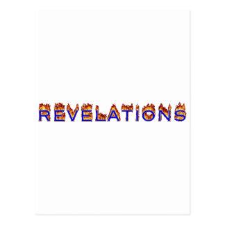 Carte Postale Icône de révélations (le feu)