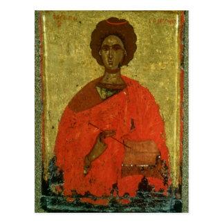 Carte Postale Icône de St Pantaleon de Nicomedia