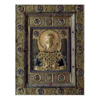Carte Postale Icône dépeignant Arkhangel Michael