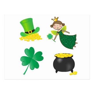 Carte Postale Icônes de St Patrick