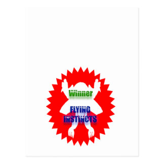 Carte Postale Identifiez l'excellence : Instincts de vol de