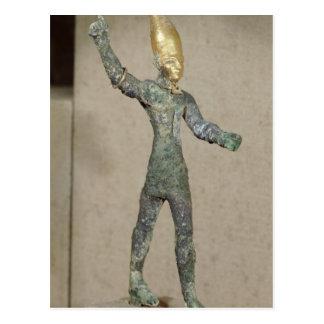Carte Postale Idole du Baal d'un dieu, d'Ugarit, la Syrie
