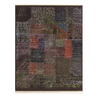 Carte Postale II structurel par Paul Klee