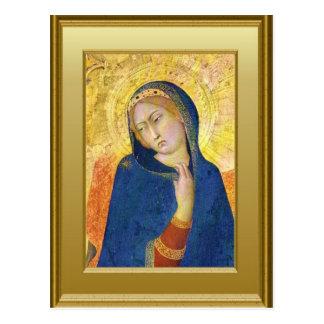Carte Postale Ikon de Vierge Marie