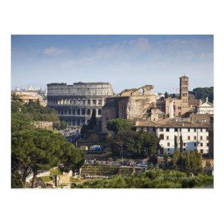 Carte Postale il Colosseum ou Colisé romain, à l'origine