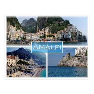 Carte Postale IL l'Italie - Campanie - Amalfi -