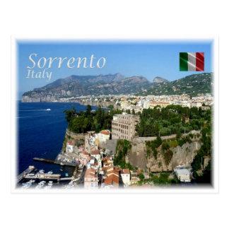 Carte Postale IL l'Italie - côte de Sorrente Amalfi -