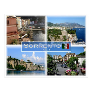 Carte Postale IL l'Italie - l'Italie - Sorrente - côte d'Amalfi