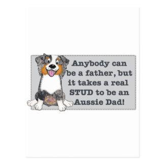 Carte Postale Il prennent un goujon pour être un papa australien