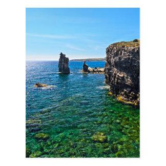 Carte Postale Île de San Pietro - Le Colonne