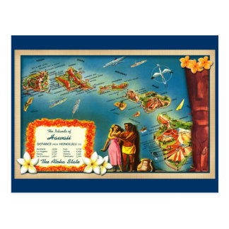 Carte Postale Îles d'Hawaï