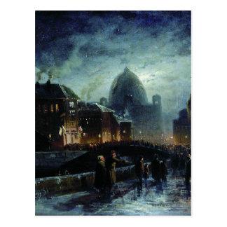 Carte Postale Illumination à St Petersburg par Fyodor Vasilyev
