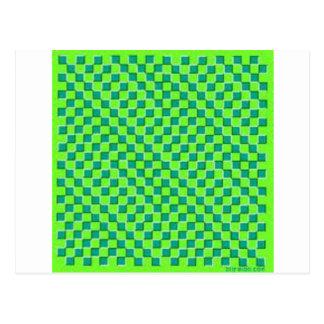 Carte Postale Illusion de vagues