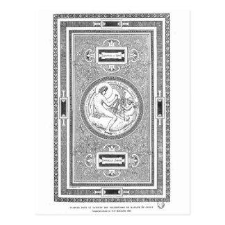 Carte Postale Illustration de classique de plafond de DaVinci et