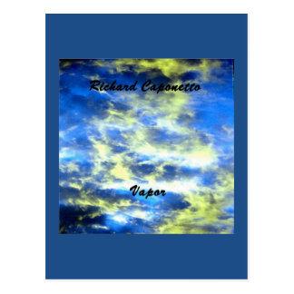 Carte Postale Illustration de couverture d'album pour la vapeur
