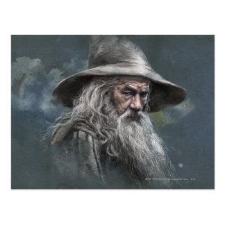 Carte Postale Illustration de Gandalf