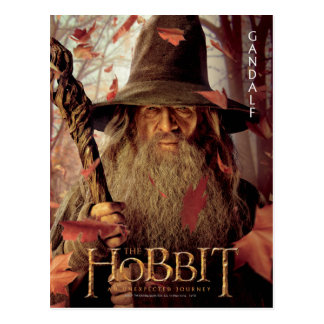 Carte Postale Illustration d'édition limitée : Gandalf