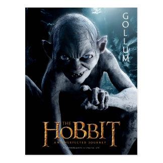 Carte Postale Illustration d'édition limitée : Gollum
