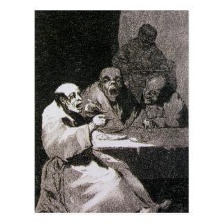 Carte Postale Ils sont chauds par Francisco Goya