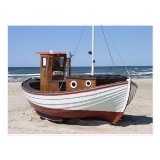 Carte Postale Image de bateau de pêche