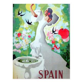 Carte Postale Image de cru de l'Espagne