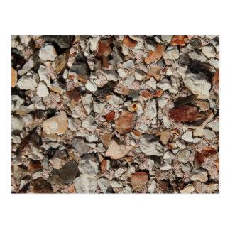 Carte Postale Image des pierres sur un mur