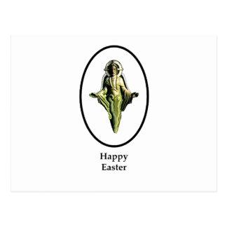Carte Postale Image heureuse Cantorbéry Transp de Pâques le
