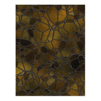 Carte Postale Images de mosaïque en verre