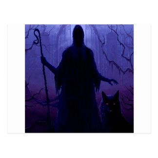 Carte Postale Imaginaire abstrait Shepard de la mort