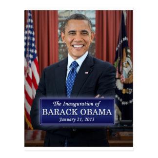 Carte Postale Inauguration 2013 de Barack Obama