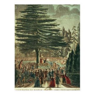 Carte Postale Inauguration du buste de Karl Linnaeus