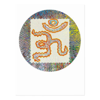 Carte Postale Incantation de l'OM : Vague d'or