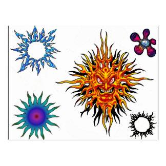Carte postale instantanée de tatouage