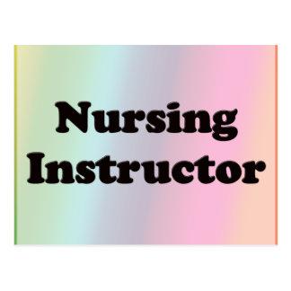 Carte Postale Instructeur de soins