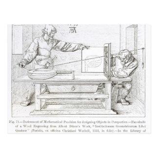 Carte Postale Instrument de précision mathématique