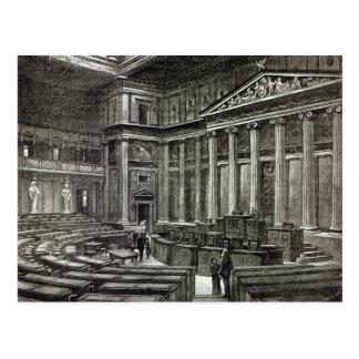 Carte Postale Intérieur des Chambres du Parlement, Vienne
