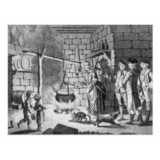 Carte Postale Introduction de Dr. Samuel Johnson à une montagne