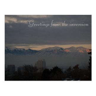 Carte Postale Inversion à Salt Lake City