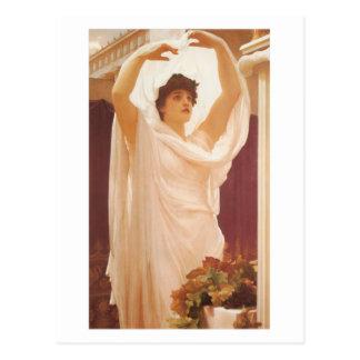 Carte Postale Invocation - seigneur Frederick Leighton