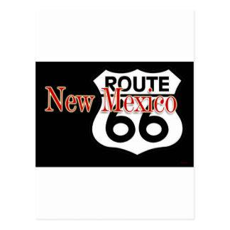 Carte Postale Itinéraire 66 du Nouveau Mexique