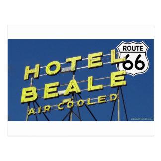 Carte Postale Itinéraire 66 Kingman Arizona de Beale d'hôtel