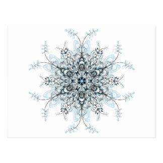 Carte Postale Jacinthes des bois congelées