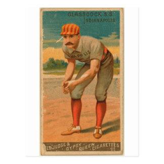 Carte Postale Jack Glasscock, Hoosiers d'Indianapolis