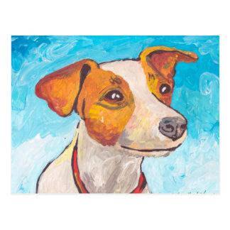 Carte Postale Jack Russell Terrier
